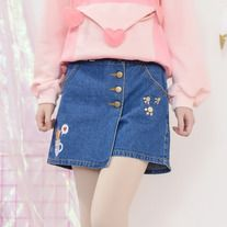 Mori Girl Spring Kitty Dress Adorable Pants Peach Heart make you more charming in your social activities.