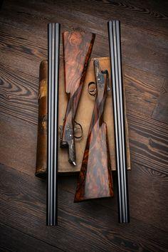 """Westley Richards Round Action Sidelocks - pair of 20g Single Trigger Guns """