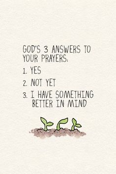 God knows what's best:)