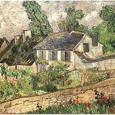 Houses in Auvers #mywork #oiloncanvas #vangogh #1890