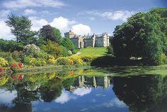 Glennap Castle, Ayrshire, Scotland.