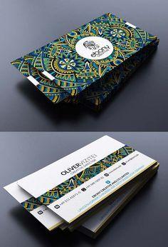 designer triangle design business cards - Google Search
