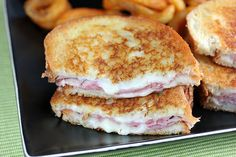 HAM AND JACK GRILLED CHEESEReally nice recipes. Every hour.Show me what you cooked!