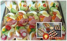 Fantastické nápady na domáce nátierky, ktoré sú výborné na studené misy a obložené chlebíčky, ktoré ma tieto sviatky určite oceníte. Výborné a hlavne pripravené rýchlo! Holidays And Events, Sushi, Sausage, Recipies, Brunch, Food And Drink, Snacks, Meat, Breakfast