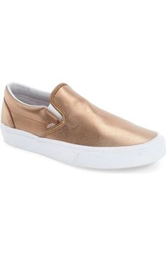 Vans Classic Slip-On Sneaker (Women) available at #Nordstrom