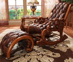 European french style Lounge Chair for luxury bedroom furniture cama mobili per la casa mebel estofadas foshan penteadeira Luxury Bedroom Furniture, Royal Furniture, Bedroom Chair, Bed Furniture, Exterior Wall Design, Home Interior Design, Manly Living Room, Cheap Bedroom Sets, Wooden Rocking Chairs