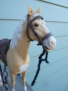 Louis Marx toy horse from 1965 on Etsy. MinnesotaJunker
