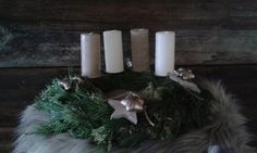 Adventskranz Advent, Pillar Candles, Crown Cake, Taper Candles