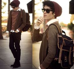 look hipster-vintage-outfits para hombre