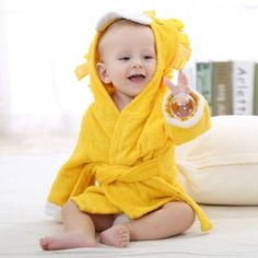 Newborn Baby Animal Hooded Bathrobe Infant Boys Girls Beach Towel Halloween Costumes Baby Blanket Sleepers Sweet Lion Bath Robe
