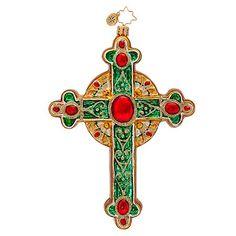 Christopher Radko Traditional Rood Christmas Ornament