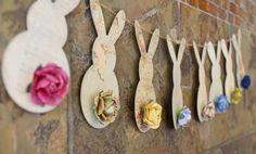 bunny garland by wendy sue anderson