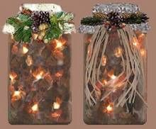 Grace showed me this decorating idea that combines the soft glow of mini lights with the gentle scent of warm potpourri. Christmas Jars, Great Christmas Gifts, Christmas Presents, Christmas Crafts, Xmas, How To Make Potpourri, Homemade Potpourri, Homemade Gifts, Mason Jar Gifts