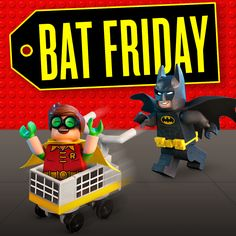 Black Friday who? Lego Dc, Lego Minecraft, Lego Batman Movie, Lego Architecture, Everything Is Awesome, Superhero Party, Dark Knight, Bowser, Black Friday