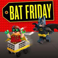 Black Friday who?! #LEGO #Batman #LEGOBatmanMovie #DCComics #SuperHeroes #BlackFriday #EverythingIsAwesome #MashupMadness