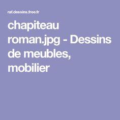 chapiteau roman.jpg - Dessins de meubles, mobilier