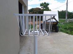 Metal Furniture, Furniture Design, Outdoor Furniture, Outdoor Chairs, Outdoor Decor, Welding Projects, Metal Working, Exterior, Patio
