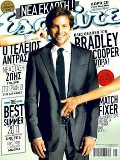 Bradley Cooper - Esquire Magazine Cover [Greece] (September 2011)