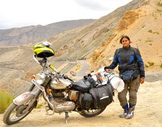Meet the lady who rode across the toughest terrains in India