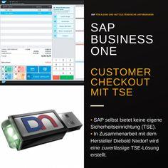 #SAPBusinessOne #Kassenlösung und die #Kassensicherungsverordnung 2020