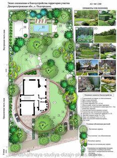 """== Ландшафтное проектирование от студии """"Дизайн Плюс"""" ==<br><br>Источник: http://dizajnplyus.prom.ua/p58394893-landshaftnoe-proektirovanie-planirovka.html<br><br>#ландшафтныйдизайн #сад #проектирование #участок #вдохновение #идея #озеленение #схема #эскиз #чертёж #план #дизайнплюс"""