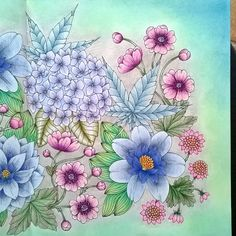 Blomster mandala #blomstermandala