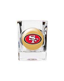 San Francisco 49ers Personalized NFL Shot Glass. http://www.bluerainbowdesign.com/WeddingFavorProduct.aspx?ProductID=PR0114111749990aUBFIr482KpBRD97709=WEDDI=GROUP=WSHUT