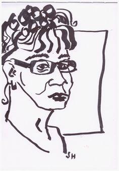 Art Drawing ink  Susanne Haun (c) Zeichnung von Susanne Haun