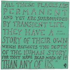 illustrated travel quotes dean fischer