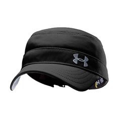Amazon.com: Women's Solid Versa Military Cap Headwear by Under Armour One Size Fits All Black: Sports & Outdoors