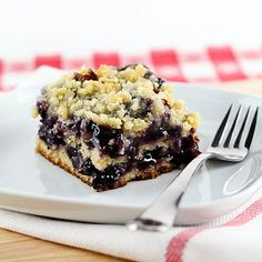 Lucky Leaf Blueberry Almond Coffee Cake by EvilShenanigans, via Flickr