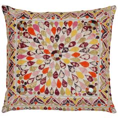 DRAFTED this up as a crib quilt - Vintage Gudjarati Shisha Indian Pillow. I've drafted this up as a pattern, It's ready to go! February 2014.