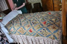William Morris in Quilting: May's version at Walker house
