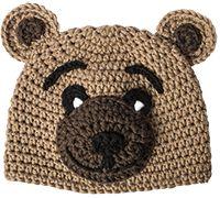 myboshi kreative Kindermütze im Bärenlook gehäkelt