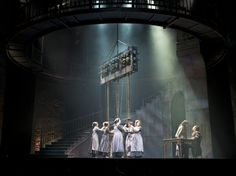 Les Miserables. Paramount Theatre. Scenic design by Kevin Depinet.