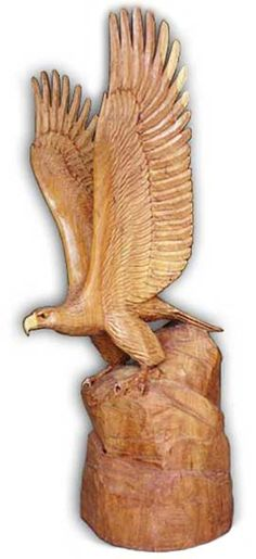 Eagle Wood Carving Sculpture Looking to find advice with regards to working with wood? http://www.woodesigner.net provides them!