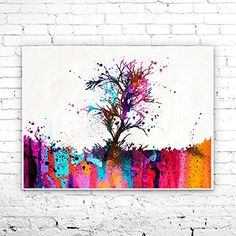 Tree Watercolor Painting art Print, Watercolor poster, Handmade poster, nature art, Home Decor, Illustration print,Forest print,tree art. Tree Watercolor Painting art Print, Watercolor poster, Handmade poster, nature art, Home Decor, Illustration print,Forest print,tree art, My prints are made in my own art studio by me, using Epson Pigment Inks, which are tested and guaranteed not to fade for at least 100+ years and fine art watercolor paper. I use Epson best wide format printers! If you...