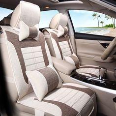 3D Styling Hemp Car Seat Cover General Cushion For  BMW F10 F11 F15 F16 F20 F25 F30 F34 E60 E70 E90 #Affiliate