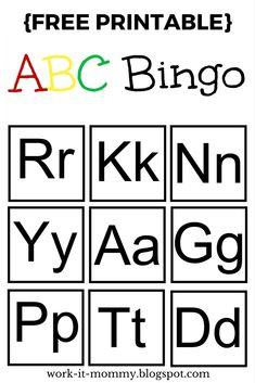 117 Best Alphabet Bingo Images Food For Kids School Snacks