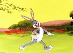 gif bugs bunny looney tunes easter