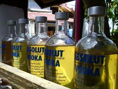 Do not drink these vodka! - #Bali #Indonesia #travel