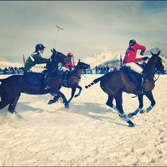 Snow Polo Courchevel