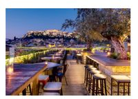 Live the 360 experience. Right on Monastiraki Sq, features a roof bar- restaurant with panoramic views of the city and the Acropolis. Athens Hotel, Athens Greece, Athens Restaurants, Luxury Bar, Best Rooftop Bars, Rooftop Restaurant, Acropolis, Parthenon Greece, Rooftop Garden