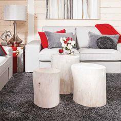 Si les petites bûches font vivre votre cheminée, les grandes, elles, peuvent embellir votre salon. Les bûches peuvent être utilisées pour fabriquer des meubles et des objets qui ne pourraient que r…