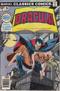Marvel Classic Comics 9 Dracula September 1976 by ViewObscura