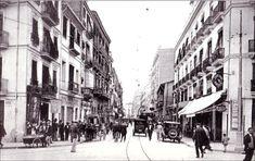 Actual Paseo de Ruzafa esquina con calle Xátiva. 1930