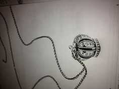 New Crown charm to wear as a pendant  Be a princess or a queen!  Pandora