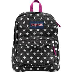 Jansport SuperBreak Backpack ($36) ❤ liked on Polyvore featuring bags, backpacks, handle bag, jansport rucksack, lightweight backpack, backpacks bags and vinyl backpack