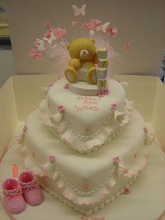 forever friends christening cake by Helen Brinksman, via Flickr