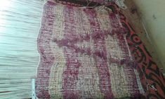 Silvana's Special Carpet - on the loom
